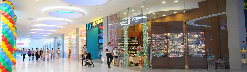 Клининг в торговых центрах